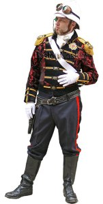 Boston Costume sells a steampunk sea captain outfit