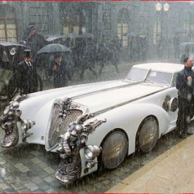 In League of Extraordinary Gentlemen Nemo has an awesome car