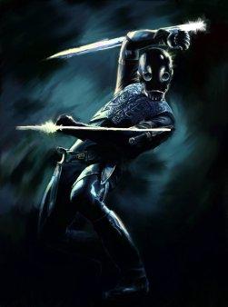 """Undead Nazi Steampunk Ninja"" by Bongoshock"