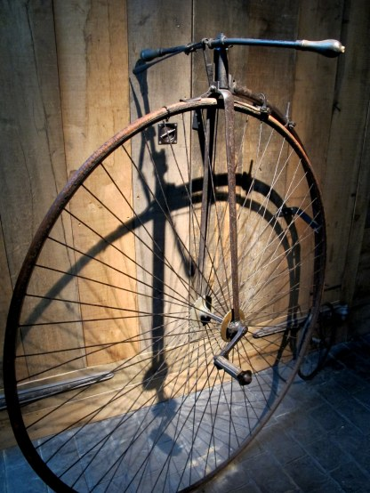 """Penny-farthing"" bike"