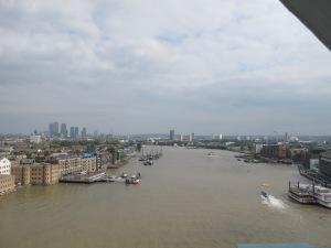 View from the Tower Bridge