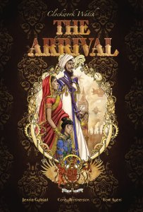 The Arrival cover