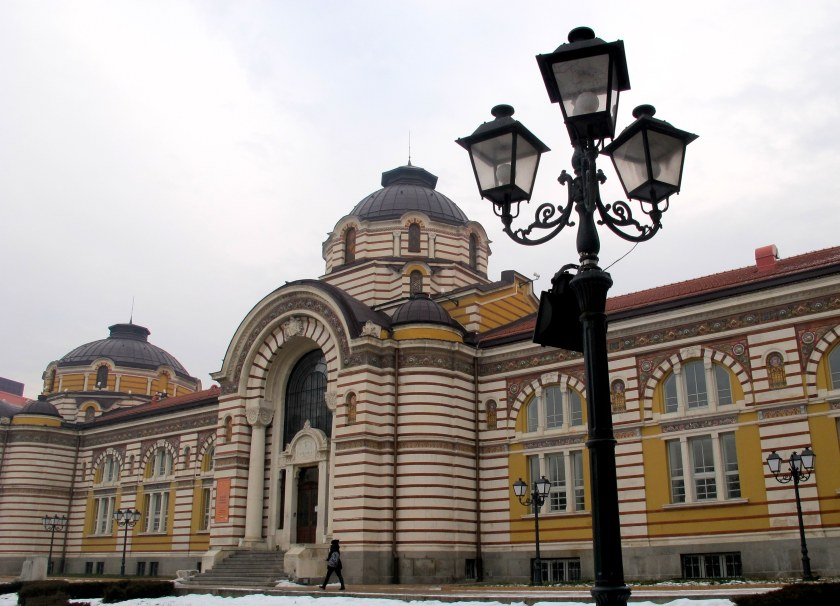 Bath house, Sofia Bulgaria