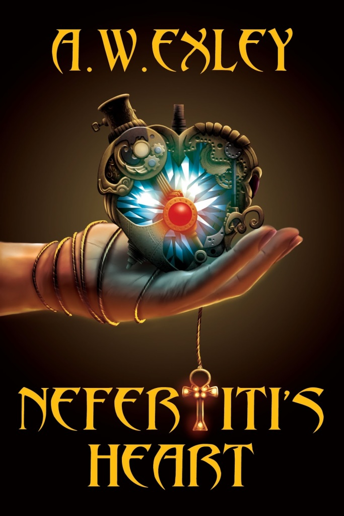 NEFERTITI HEART Updated Cover copy