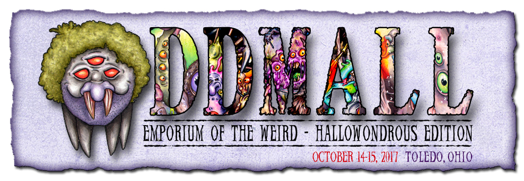 """Catch me at """"Hallowondrous"""" in Toledo OH October14-15"""